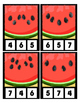 W is for Watermelon Counting to 20 Clip Cards Math Center