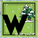 W is for Winter Themed Unit-Preschool Lesson Plans and Activities (TWO weeks)