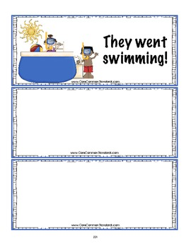 W.1.3 First Grade Common Core Worksheets, Activity, and Poster