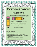 W.2 Informational Writing Benchmark
