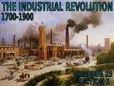 W25.1 - The Beginnings of Industrialization - PowerPoint Notes