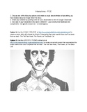 W8.6 - Edgar Allan Poe Interactives (Comic and Acrostic Poem Generators)