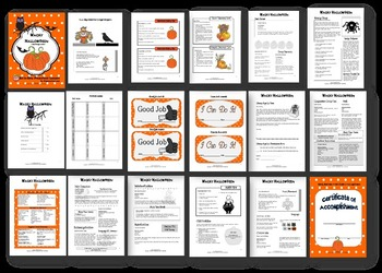 WACKY HALLOWEEN (Lesson Plans + Printables!)
