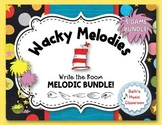 WACKY MELODIES, Write the Room: 5 GAME BUNDLE