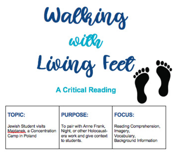 WALKING WITH LIVING FEET: Concentration Camp Close Reading