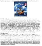 WALL-E Movie Guide Worksheet and Answers