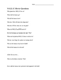 WALL-E Movie Questions