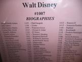 WALT DISNEY  #1007