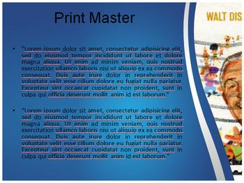 walt disney powerpoint templatetemplates vision | tpt, Powerpoint templates