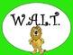 W.A.L.T. Learning Goal Posters Safari Theme