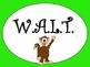 W.A.L.T. Learning Goal Posters Safari Theme
