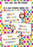 WALT, WALF, TMB posters