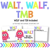 WALT, WALF/WILF and TMB/TIB posters- Monster theme