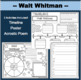 WALT WHITMAN BUNDLE of Differentiated Activities
