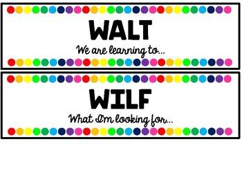 WALT WILF Display Cards