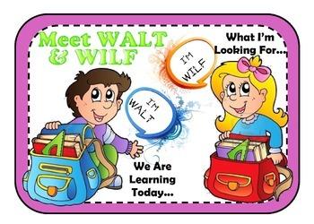 WALT & WILF Poster