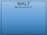 WALT, WILF & TIB Posters.
