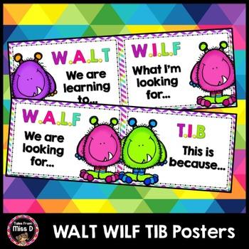 WALT WILF TIB Posters