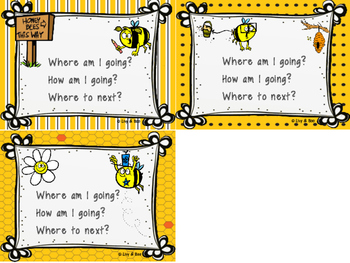 WALT, WILF & TIB Posters - For learning objectives & outcomes - Bees