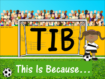 WALT, WILF & TIB Posters - For learning objectives & outcomes. Sports Theme