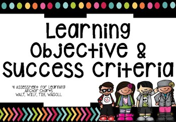 WALT WILF TIB WAGOLL learning objective poster BRIGHT