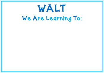 WALT, WILF and LISH Posters