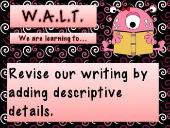 WALT WILF and TIB Monsters