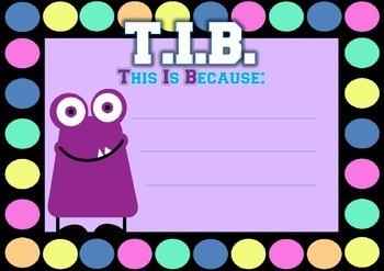 WALT, WILF/WALF, TIB/TIIB - Monster & Polka Dots
