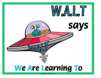 WALT and WILF - Alien Posters