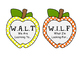 WALT and WILF Apple Posters