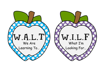 walt and wilf apple posters by little miss cupcake tpt