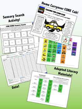 WANT: Complete Core Word Activity Set