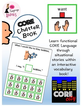 WANT: Interactive CORE City Chatter Book