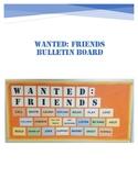 WANTED: FRIENDS Bulletin Board Kit