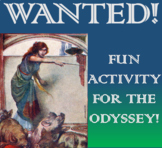 WANTED! - FUN ACTIVITY FOR THE ODYSSEY