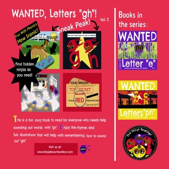 """WANTED Letters """"gh"""" - Fun With Phonics--How Ironic"""