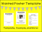 Back to School Night Display - WANTED Posters