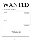 WANTED Poster for Fairy Tales