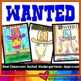 WANTED Posters/ Writing! @ conferences , hallway , open house , adjectives