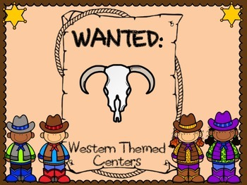 WANTED: Western Centers-sample bundle