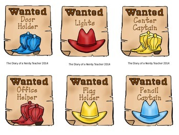 WANTED Western/Cowboy Classroom Jobs