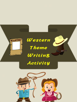WANTED Writing Activity
