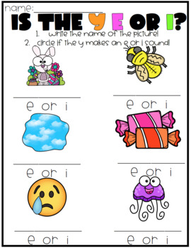 WANTED: Y as a Vowel Word Hunt!