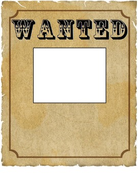 image relating to Printable Wanted Poster titled Wished-for poster template