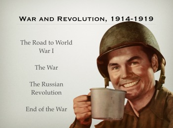 WAR AND REVOLUTION, 1914-1919
