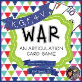 WAR: An Articulation Card Game {K, G, F, V}