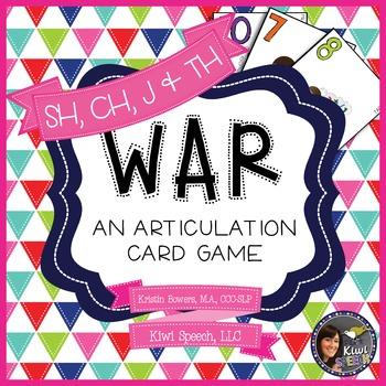 WAR: An Articulation Card Game {SH, CH, J, TH}