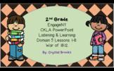 WAR OF 1812 CKLA Listening and Learning BUNDLE Domain 5 AL