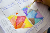 WARM & COOL COLOURS worksheet