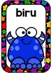 WARNA colour monster posters BAHASA INDONESIA indonesian